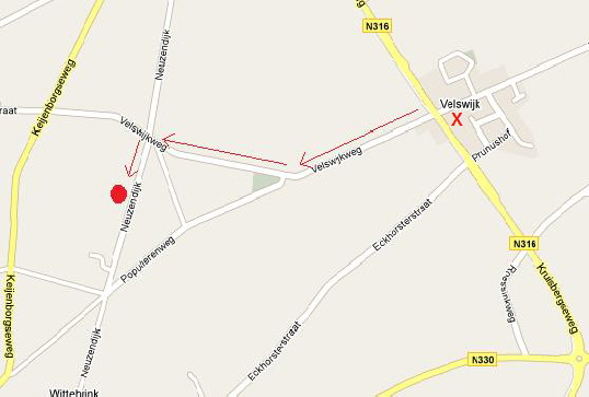 Velswijk route hondenschool direct